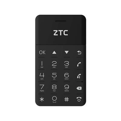 ZTC G200Cardphone Single SIM Negro