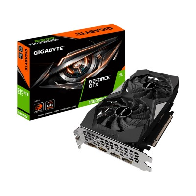 Graphics Card Gigabyte GeForce GTX 1660 SUPER 6GB OC