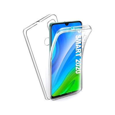 Silicone 360º Cover Huawei P Smart 2020 Transparent
