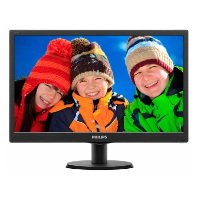 "Monitor Philips 22"" LCD FHD (223V5LSB)"