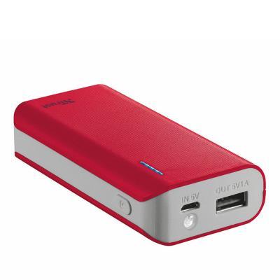 Powerbank Trust Primo 4400mAh Red
