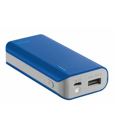 Powerbank Trust Primo 4400mAh Azul