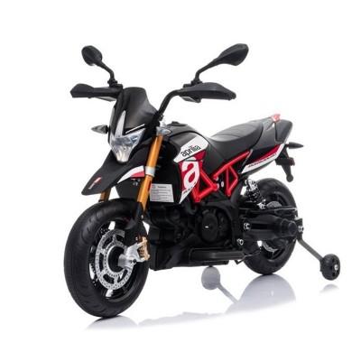Electric Motorcycle Aprilia A007 12V Black/Red