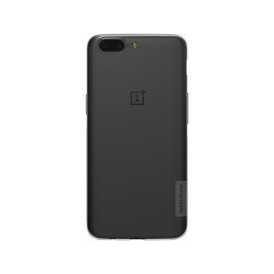 Capa Silicone Nillkin OnePlus 5 Transparente Escuro