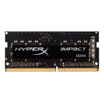 RAM Memory Kingston HyperX Impact 16GB DDR4 2666MHz SODIMM Black