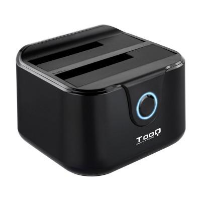 Dock Station TooQ Double SATA USB 3.0 Black (TQDS-802B)