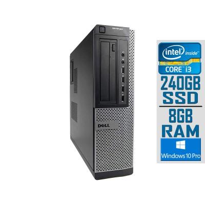 Desktop Dell OptiPlex 790 DT i3-2120 SSD 240GB/8GB Refurbished