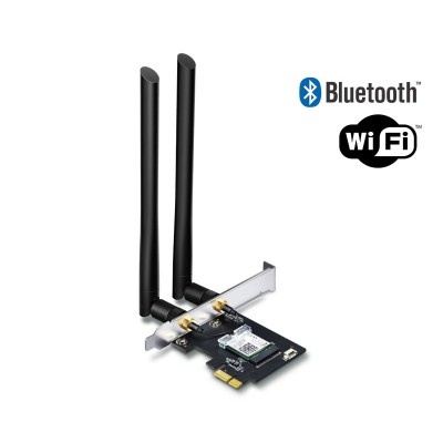 Placa de Rede TP-Link Archer T5E AC1200 Wi-Fi Bluetooth 4.2 PCI Express