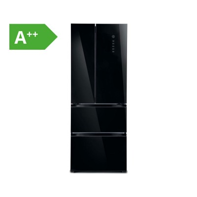 Combined Fridge Hoover 350L Black (HMDN182EU)