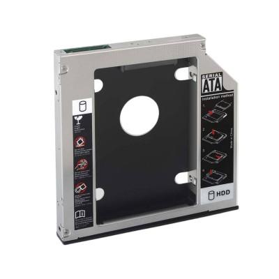 """Adaptador Caddy Universal Nanocable 5.25"""" para 2.5"""" SATA"""