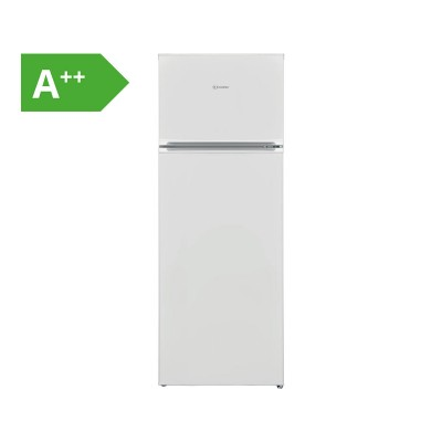 Combined Fridge Indesit 213L Stainless Steel (I55TM4120W)