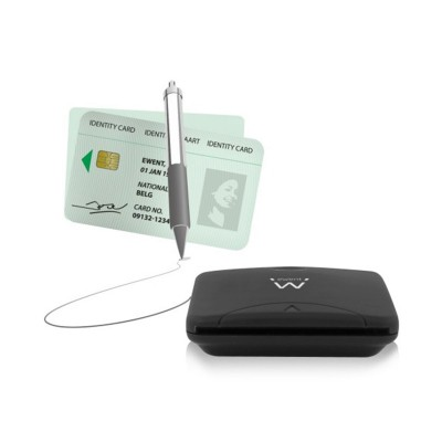 Citizen Card reader Ewent USB 2.0 Black (EW1052)