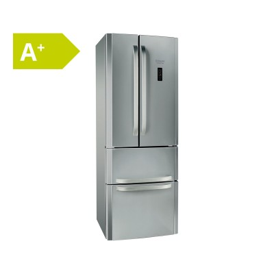 Combined Fridge Hotpoint 399L Stainless Steel (E4DYAAXC)