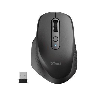 Wireless Mouse Trust Ozaa Black (23812)