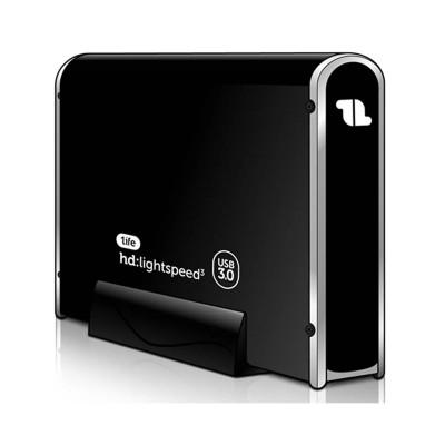 "HDD/SSD Enclosure 1Life 3.5"" SATA USB 3.0 Black (1IFEHDLGHTSPD3)"