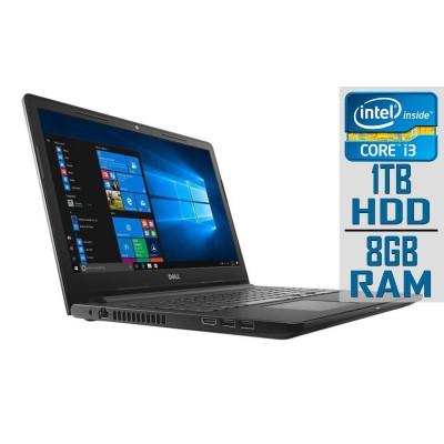 "Laptop Dell Inspiron 3000 15"" i3-7130U 1TB/8GB Refurbished"