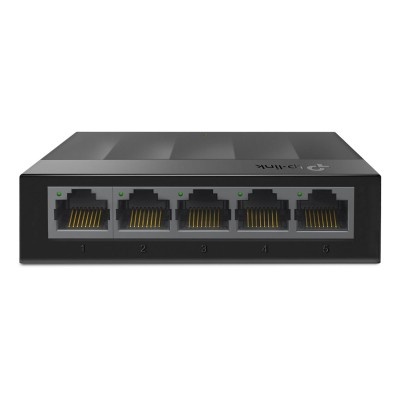Switch TP-Link 5 Doors 10/100/1000 Mbps Black (LS1005G)
