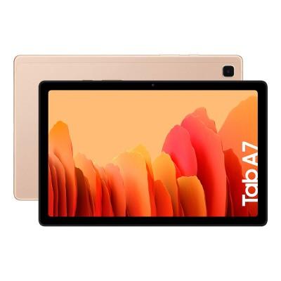 """Tablet Samsung Tab A7 10.4"""" Wi-Fi (2020) 32GB/3GB Dourado (T500)"""