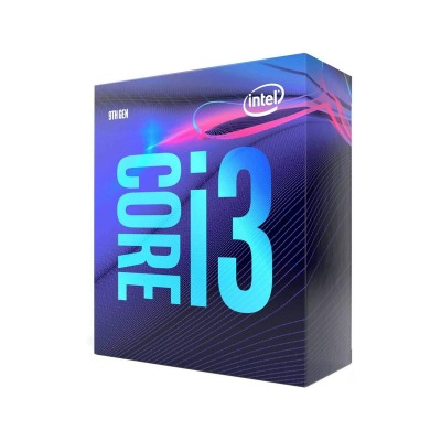 Processor Intel Core i3-9100 4-Core 3.6GHz w/Turbo 4.2GHz 6MB