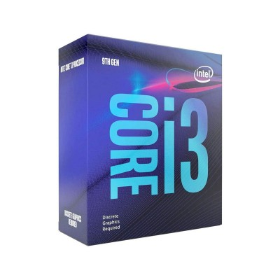 Processor Intel Core i3-9100F 4-Core 3.6GHz w/Turbo 4.2GHz 6MB