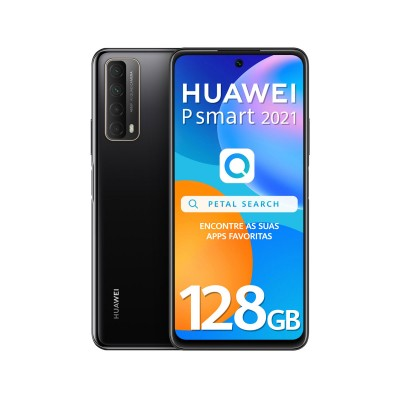 Huawei P Smart 2021 128GB/4GB Dual SIM Black