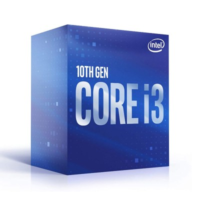 Processor Intel Core i3-10100 4-Core 3.6GHz w/Turbo 4.3GHz 6MB