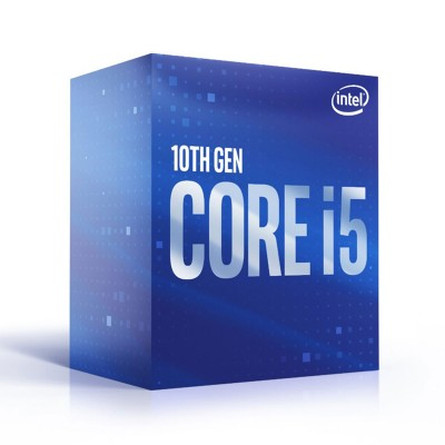 Processor Intel Core i5-10500 6-Core 3.1GHz w/Turbo 4.5GHz 12MB