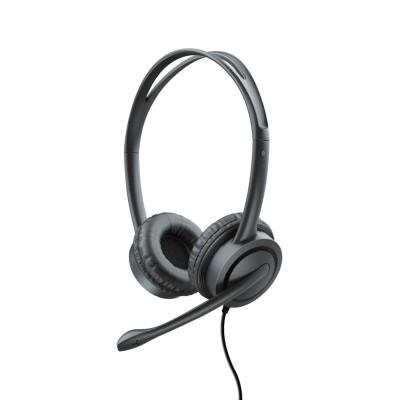 Headphones Trust Mauro USB w/Microphone Black (17591)