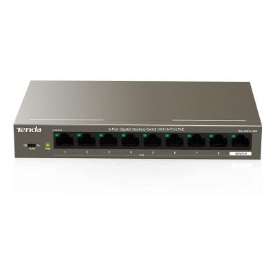 Switch Tenda 8 Portas 10/100/1000 Mbps PoE (TEG1109P-8-102W)