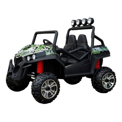 Electric Car Buggy S2588 24V Military green