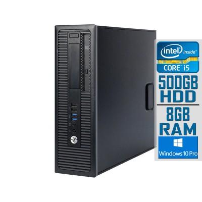 Desktop HP ProDesk 600 G1 SFF i5-4570S 500GB/8GB Refurbished