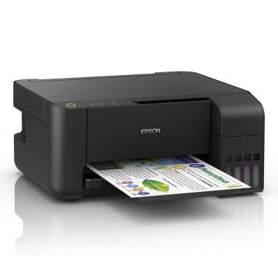 Multifunction Printer Epson Ecotank L3110 Black (C11CG87403B1)