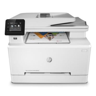 Multifunction Printer HP Color LaserJet Pro MFP M283fdw White (7KW75A)