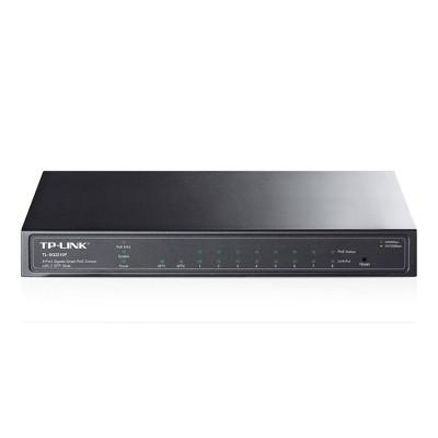 Switch TP-Link 8 Doors 10/100/1000 Mbps PoE Black (TL-SG2210P)