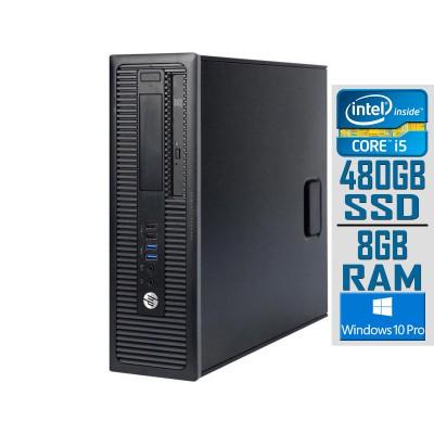Desktop HP ProDesk 600 G1 SFF i5-4570S SSD 480GB/8GB Refurbished