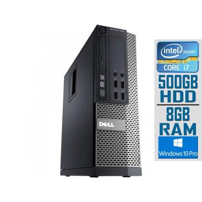 Desktop Dell OptiPlex 3020 SFF i7-4790S 500GB/8GB Refurbished