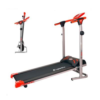 Magnetic Treadmill inSPORTline Sprynkl Orange