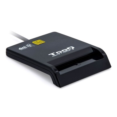 Leitor Cartão Cidadão TooQ USB 2.0 Preto (TQR-210B)