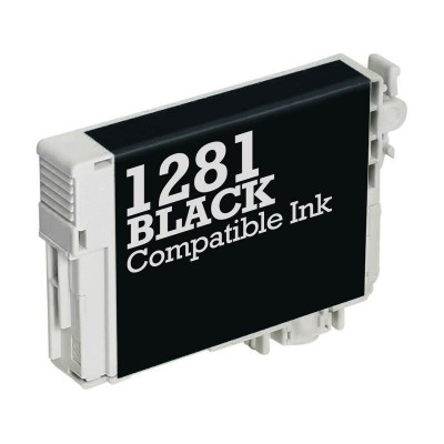 Compatible Ink Epson E-1281 Black