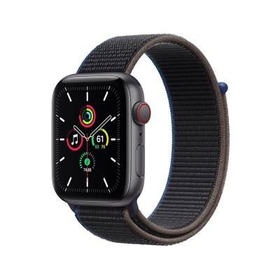 Smartwatch Apple Watch SE GPS + Cellular 44mm Correa Loop Deportiva Negra