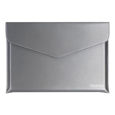 "Laptop Sleeve Toshiba Ultrabook Sleeve 15.6"" Silver"