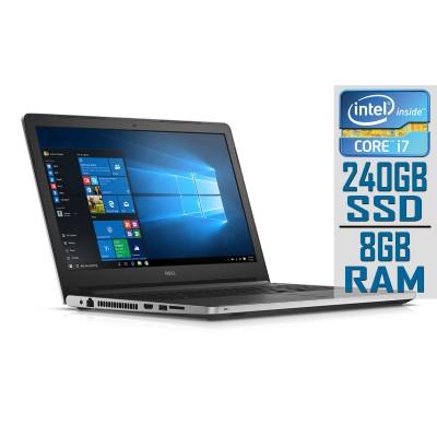 "Dell Inspiron 5559 15"" i7-6500U SSD 240GB/8GB Refurbished"