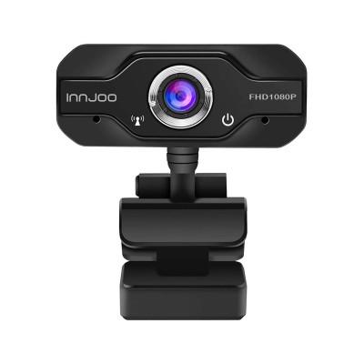 Webcam Innjoo Cam01 w/Microphone Black (IJ-CAM01)