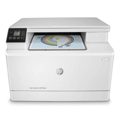 Impressora Multifunções HP Color LaserJet Pro MFP M182n (7KW54A)