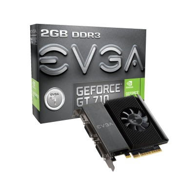 Placa Gráfica EVGA Geforce GT 710 2GB DDR3