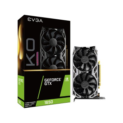 Placa Gráfica EVGA Geforce GTX 1650 KO ULTRA 4GB GDDR6