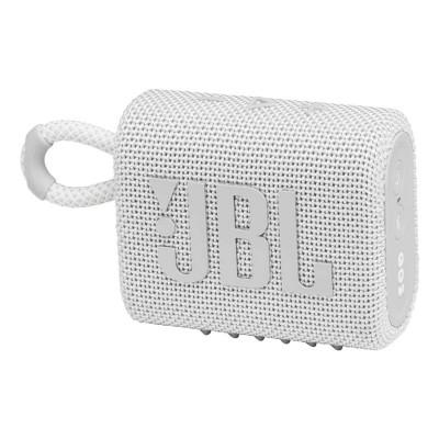 Portable Speaker JBL GO 3 Bluetooth White (JBLGO3WHT)