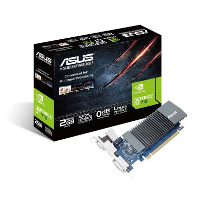 Graphics Card Asus GeForce GT 710 2GB GDDR5 Low Profile