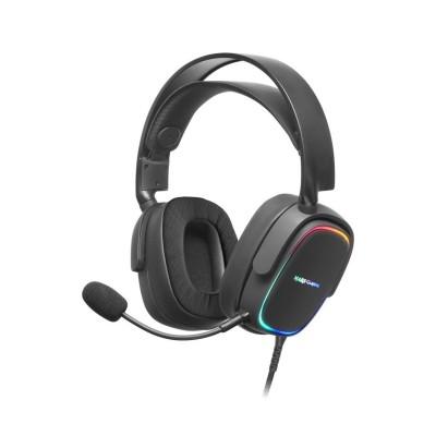 Headset Mars Gaming MHAX RGB Preto