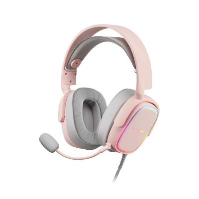 Headset Mars Gaming MHAX RGB Pink